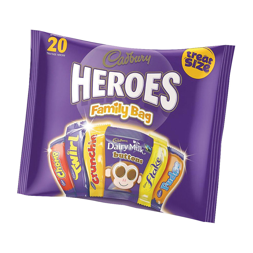 Cadburys Favourites Variety Bag, 350g - 131266