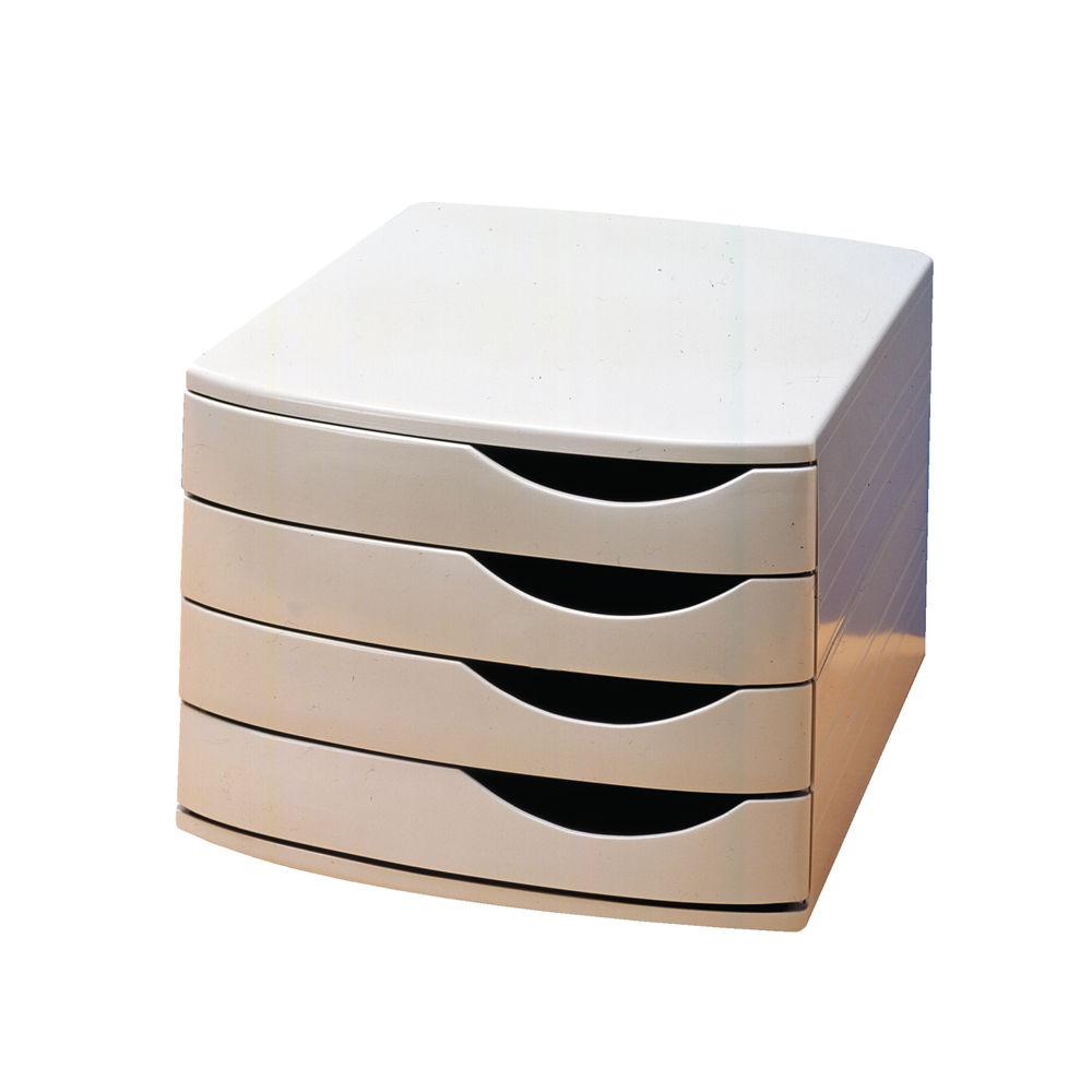 Jalema Grey Desktop 4 Drawer Set - A6862541