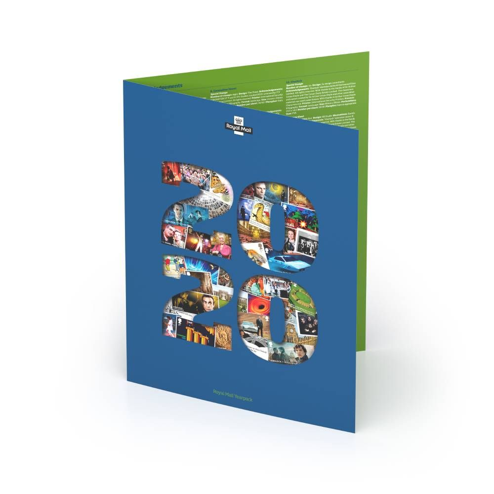 The 2020 Special Stamps Year Pack