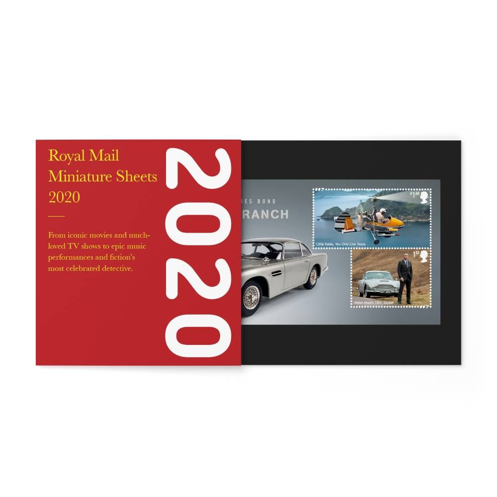 The 2020 Year of Minisheets