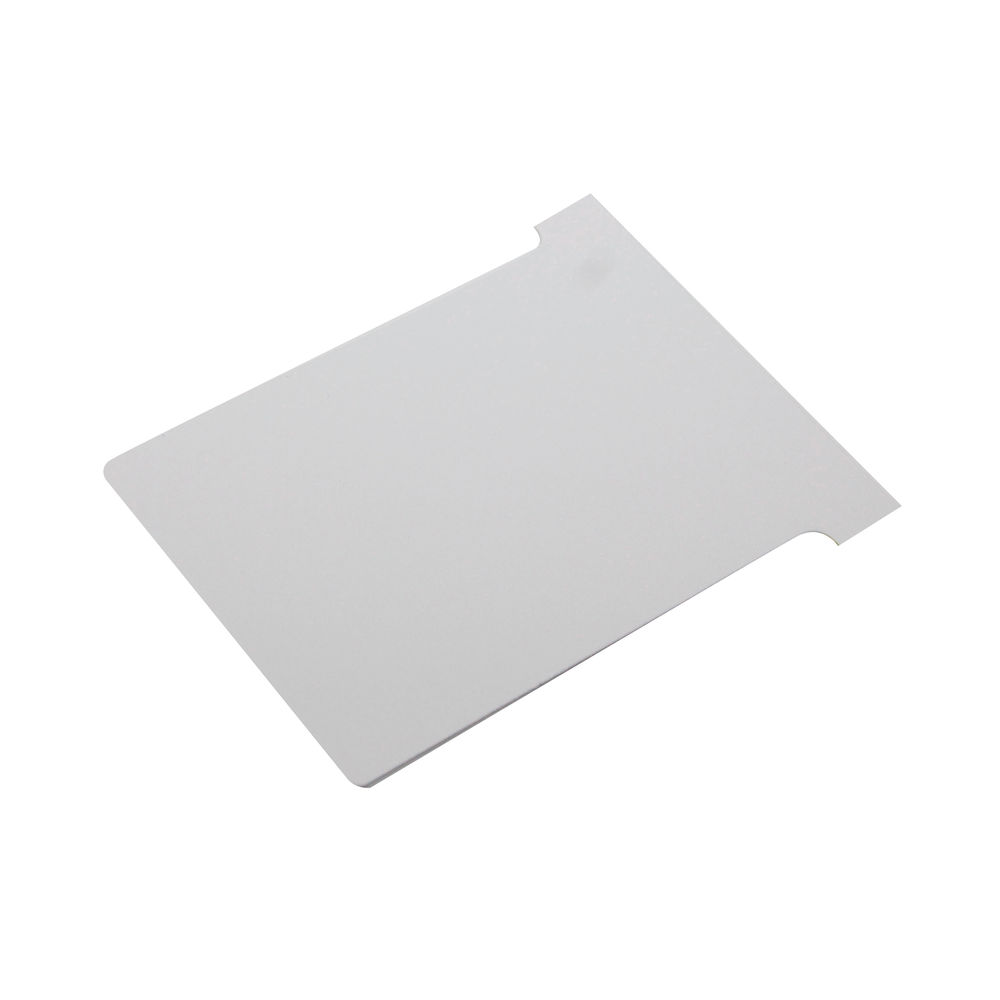 Nobo White T-Cards - Size 2 - (Pack of 100) - 32938900