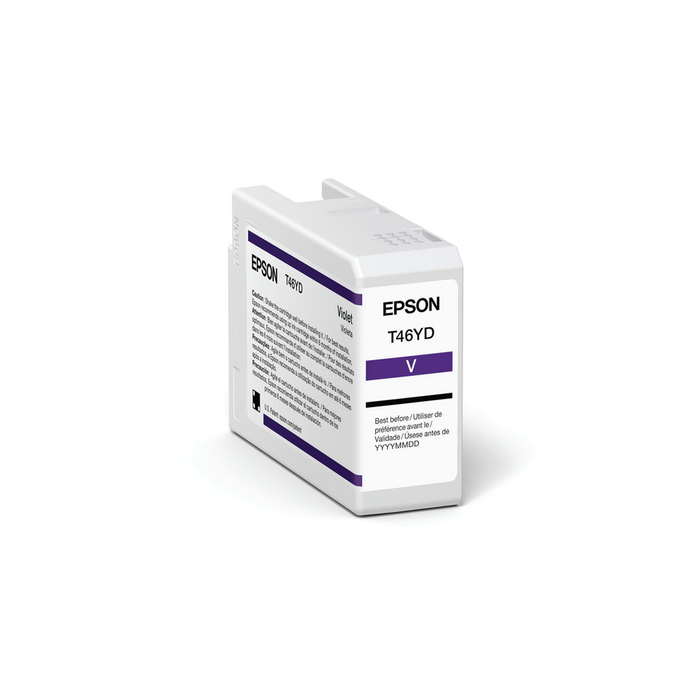 Epson T47AD Violet UltraChrome Pro 10 Ink 50ml C13T47AD00