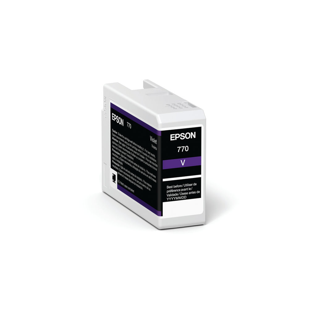 Epson T46SD Violet UltraChrome Pro 10 Ink 25ml C13T46SD00