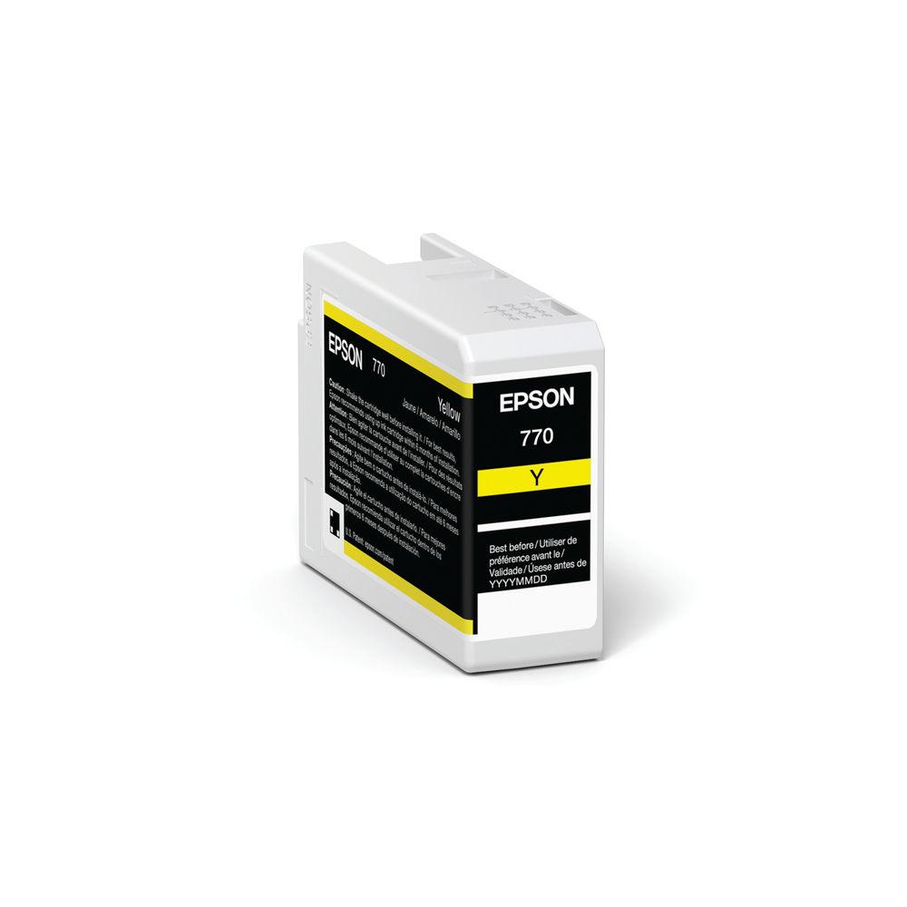 Epson T46S4 Yellow UltraChrome Pro 10 Ink 25ml C13T46S400