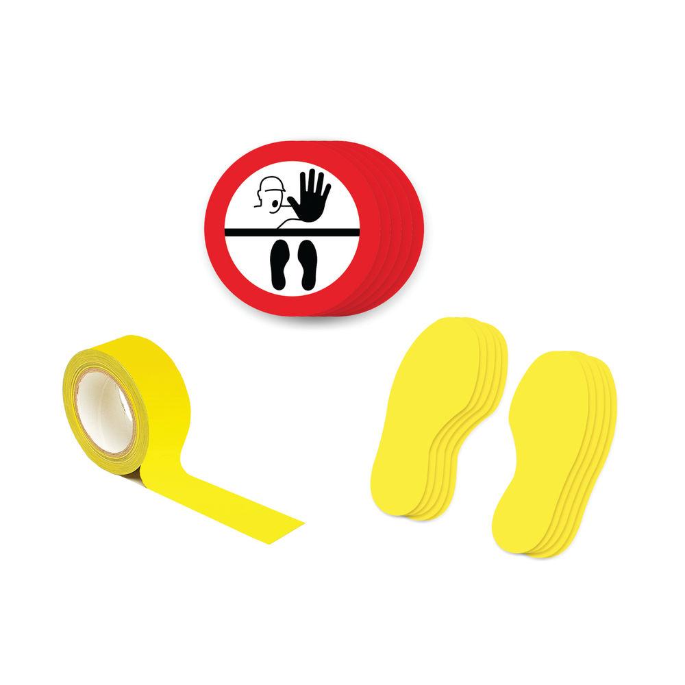 Social Distance Marker Kit Symbol Only 1B SDKIT1B