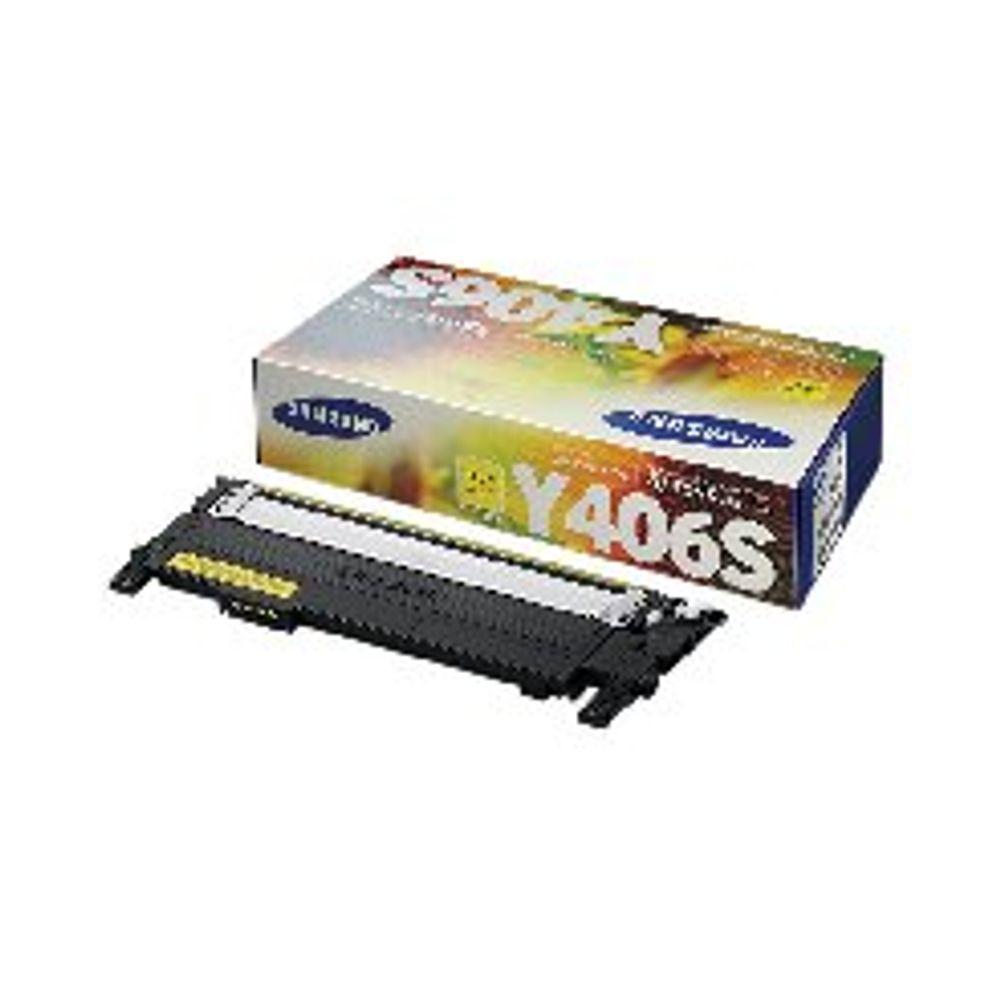Samsung CLT-Y406S Yellow Toner Cartridge | SU462A