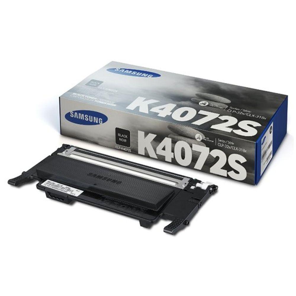 Samsung CLT-K4072S Black Toner Cartridge - SU128A