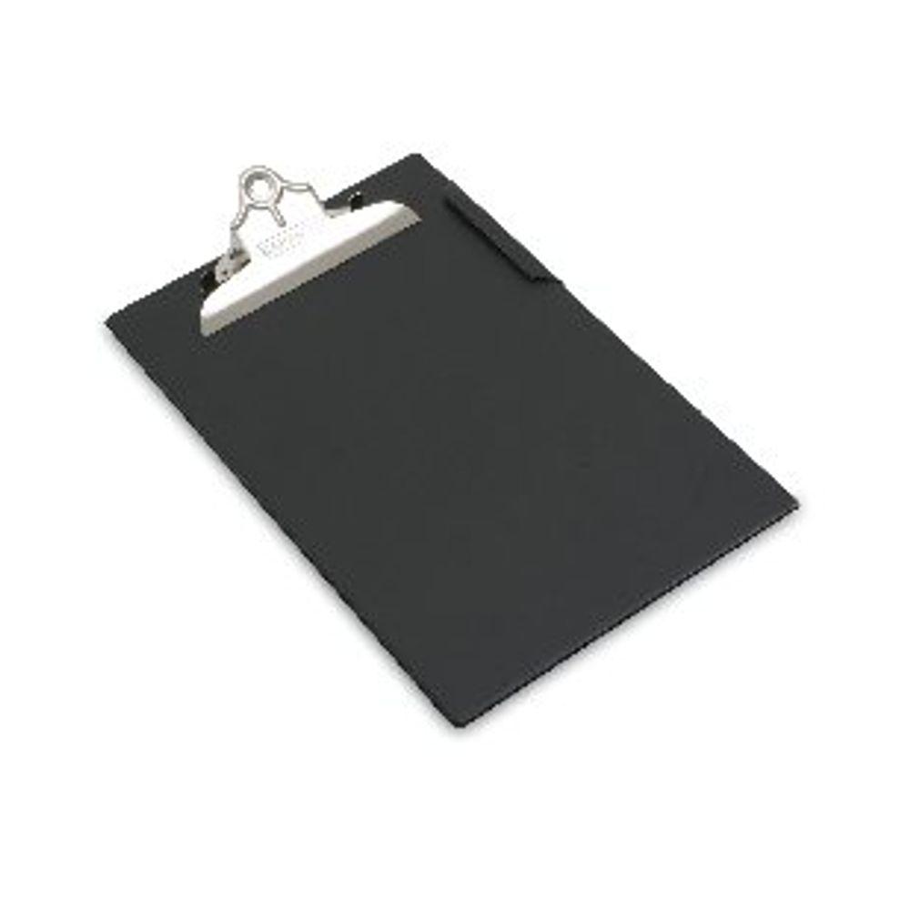 Rapesco Black A4 Heavy Duty PVC Clipboard - CD1000B2