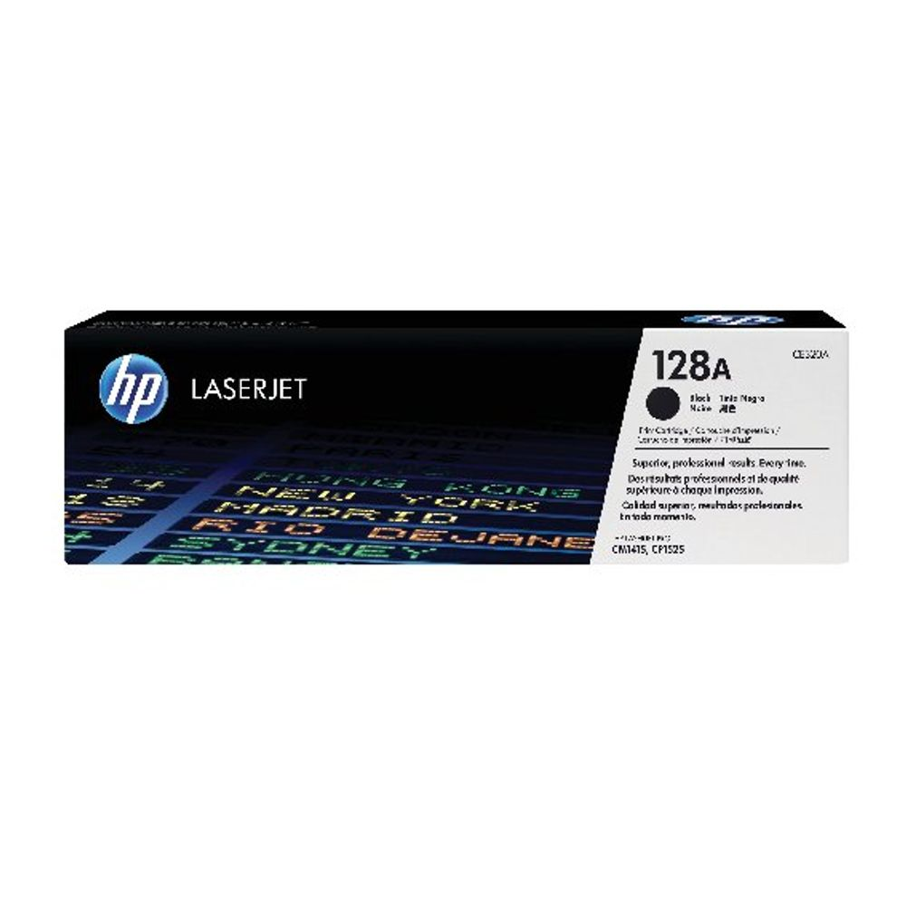 HP 128A Black Laserjet Toner Cartridge (Pack of 2) CE320AD