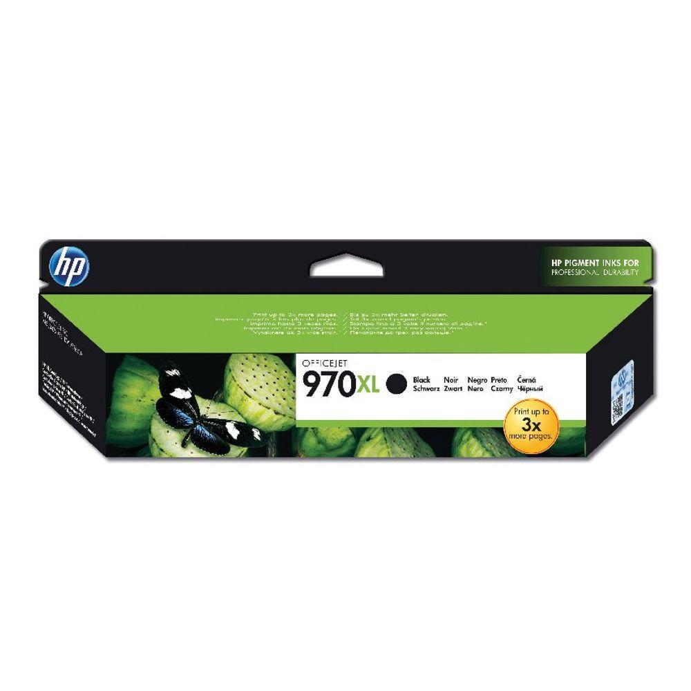 HP 970XL High Capacity Black Ink Cartridge - CN625AE