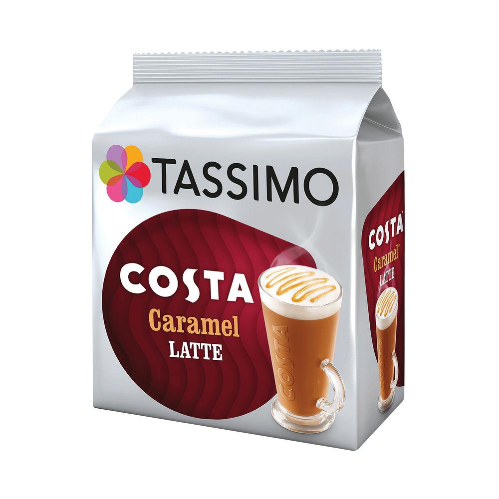 Tassimo Costa Caramel Latte Coffee Pods (Pack of 40) 4031637