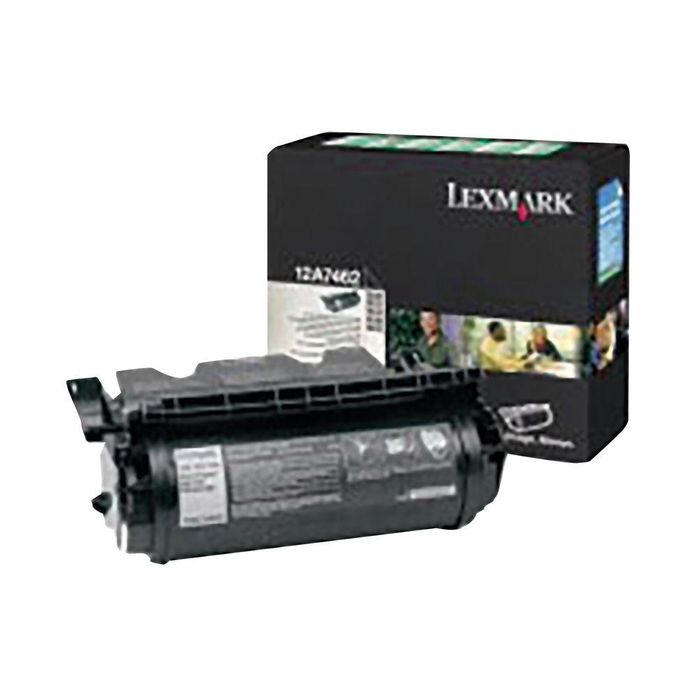 Lexmark Black High Yield Toner Cartridge 0012A8244