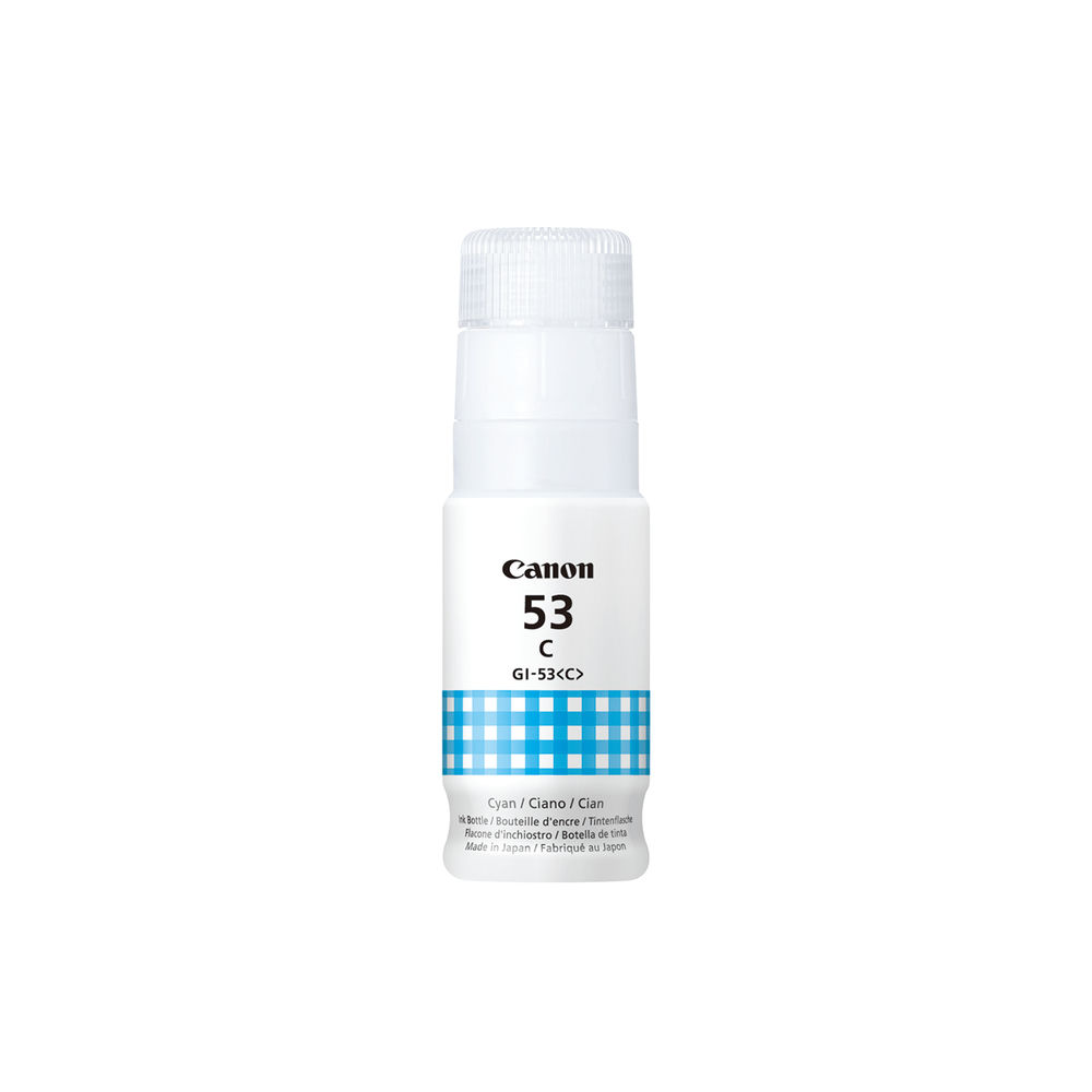 Canon GI-53 C EUR Cyan Ink Bottle 4673C001