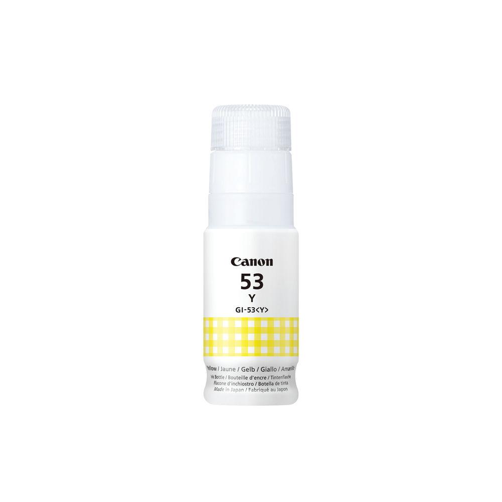 Canon GI-53 Y EUR Yellow Ink Bottle 4690C001