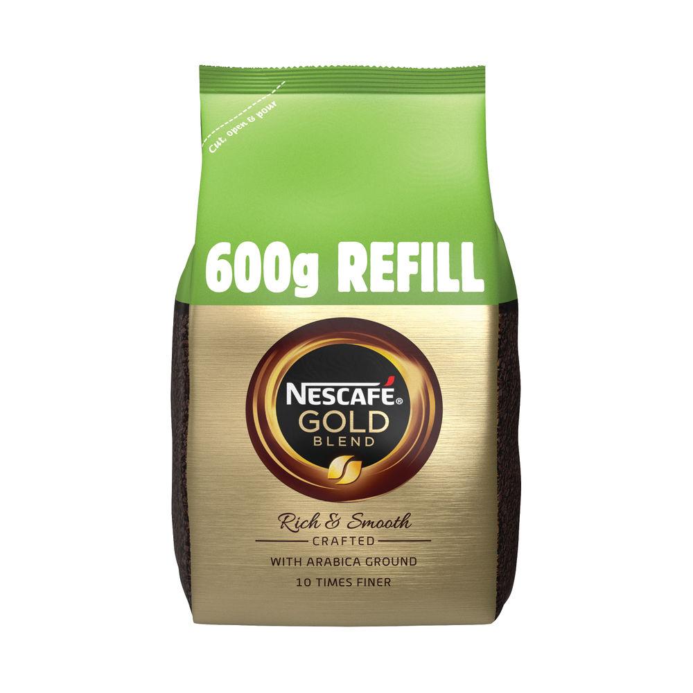 Nescafe Gold Blend 600g Refill (Makes approx 333 cups) 12226527