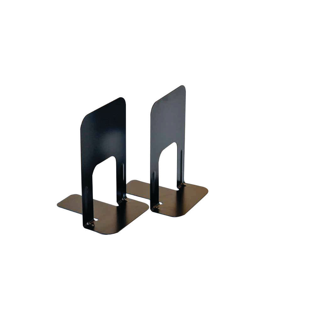Deluxe Large Bookends Black (Pack of 2) BLO06914