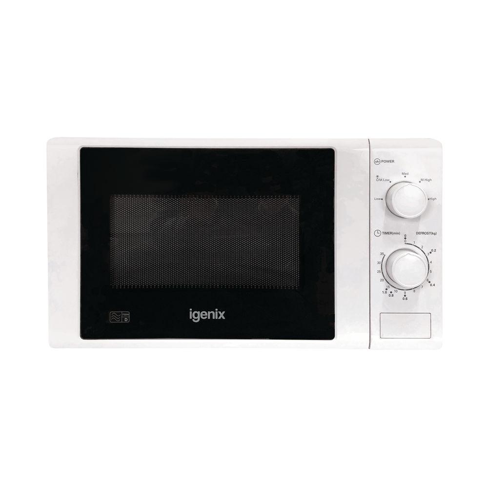 Igenix 700W Manual Control 20 Litre Microwave - KOR6L65