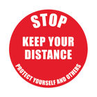 Social Distance Marker Keep Your Distance 235mm SDM01