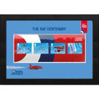 The RAF Centenary Framed Red Arrows Miniature Sheet - N3121