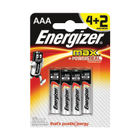 Energizer MAX E92 AAA Batteries, Pack of 4 + 2 Free - E300142400