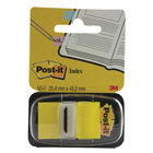 Post-it Yellow Index Tabs, Pack of 50 - 680-5