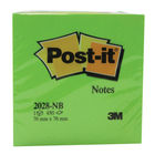 Dream Colour 76 x 76mm Post-it Note Cube - 2028NB
