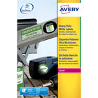 Avery Heavy Duty White Address Labels 210 x 297mm (Pack of 20) – L4775-20