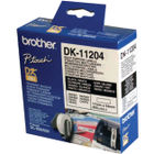 Brother Black on White Paper Multi Purpose Labels (Pack of 400) DK11204