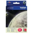 Brother LC1000M Magenta Inkjet Cartridge