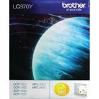 Brother LC-970Y Yellow Inkjet Cartridge