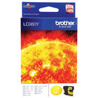 Brother LC980Y Yellow Ink Cartridge - LC980Y