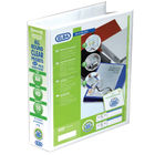 Elba Panorama White A4 4 D-Ring Binder 50mm, Pack of 10 - 128907