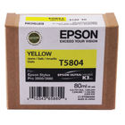 Epson T5804 Yellow Ink Cartridge - C13T580400