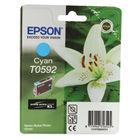 Epson T0592 Cyan Ink Cartridge - C13T05924010