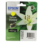 Epson T0594 Yellow Ink Cartridge- C13T05944010