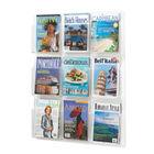 Safco A4 9 Pocket Deluxe Magazine Presenter- 5603CL