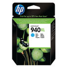 HP 940 XL Cyan Ink Cartridge - High Capacity C4907AE