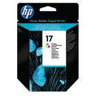 HP 17 Tri-Colour Ink Cartridge - C6625AE