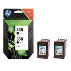 HP 338 Black Ink Cartridge Twin Pack - CB331EE