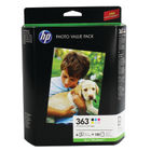 HP 363 Black and Colour Photo Ink Cartridge Combo Pack - Q7966EE