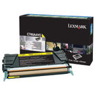 Lexmark C746 Yellow Toner Cartridge - High Capacity C746A1YG