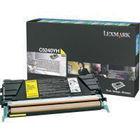 Lexmark C524 Yellow Toner Cartridge - High Capacity 00C5240YH
