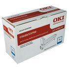 Oki C5600 Cyan Image Drum (20,000 Page Capacity) 43381707