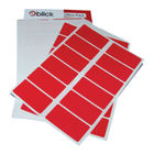 Blick Red 25 x 50mm Office Labels (Pack of 320) - RS019954