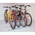 Cycle Rack 4-Bike Capacity Aluminium 309714