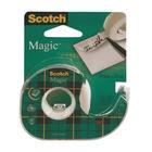 Scotch 19mm x 25m Magic Tape Dispensers, Pack of 12 - 8-1925D