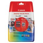 Canon CLI-526 Black and Colour Ink Photo Value Pack - CLI-526