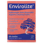 Envirolite Lightweight 480x360mm Red All Purpose Cloths (Pack of 50) ELF500