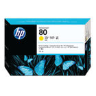 HP 80 Yellow Ink Cartridge - C4873A