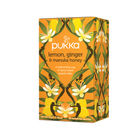 Pukka Lemon, Ginger and Manuka Tea Sachets, Pack of 20 | P5049